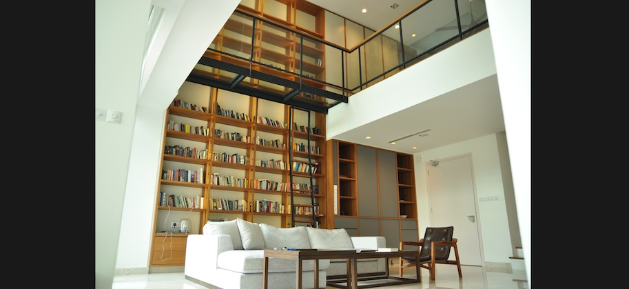 Residential interiors custom design group for Duplex units
